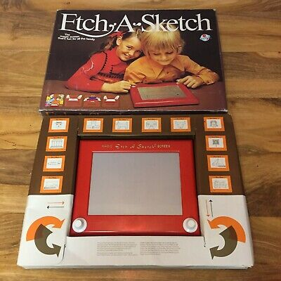 Vintage Etch A Sketch Magic Screen, Boxed, Ohio Art, Vtg Retro, Collectable Prop • 29.95£