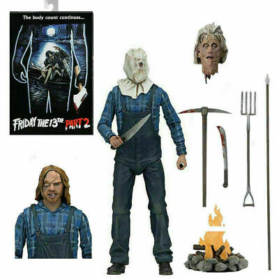NECA Friday The 13th Part 2 Ultimate 7  Jason Vorhees Action Figure - New Boxed • 24.99£