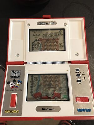 Nintendo Game & Watch Multi Screen Mickey & Donald DM-53 Boxed Made In Japan • 9.80£