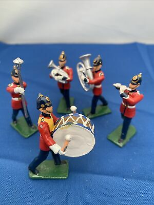 Metal Toy Soldiers 6cm Life Guards Army Band Set 3 • 14.99£