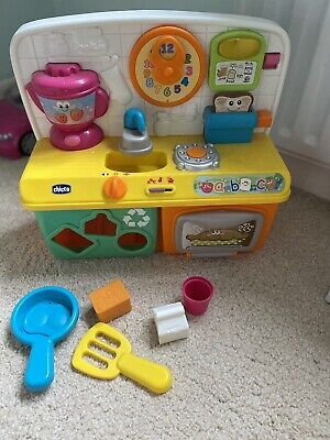Chicco Bilingual Toy Kitchen + Oven • 2.90£