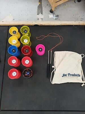 Mr Babache Diabolo + Juggle Dreams Jester X2 + 9 More + Pro Handsticks Job Lot • 39.99£