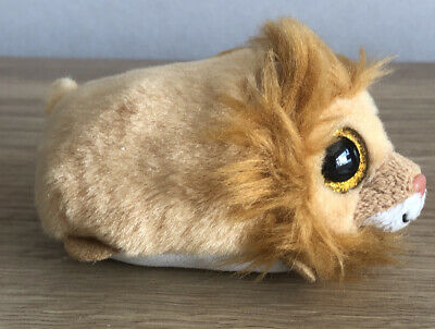 Teeny Ty Beanie Baby Collection Mini Tiny Regal The Lion 4'' Tys Plush Soft Toy • 2£