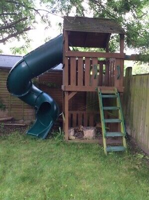 Playground Equipment, Enclosed Spiral Slide, Superstrong, Cost £4000 • 795£