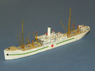 Jouet Bateau Hospital Toy Boat Cm Miniaturen 130 Cassel Scale Model Ship 1/1250 • 31.76£