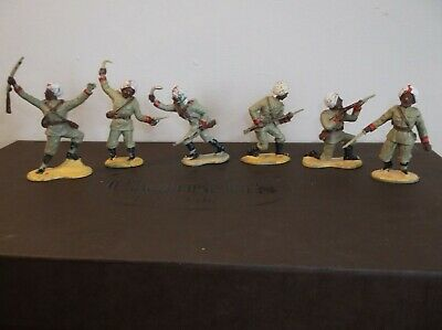 Vintage Crescent Sikh Soldiers X6 In Good Condition • 10£