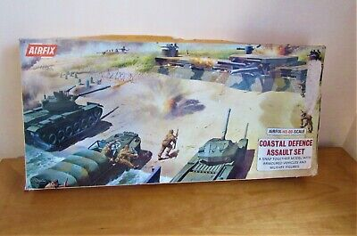 VINTAGE 1972 AIRFIX COASTAL DEFENCE SET, Model No. 1693 • 12.75£
