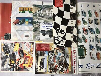 7 Assorted Lledo Catalogues ,brochures,poster Pre-owned • 5.50£