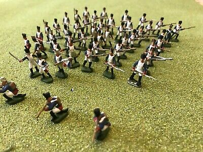 130nr 1/72nd Esci French Waterloo Infantry Painted Figures • 13£