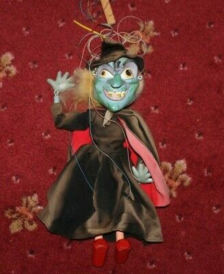 Pelham Puppets    Wicked  Green Witch   • 12.50£