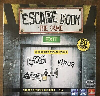 Escape Room The Game 3 Thrilling Escape Rooms Play At Home • 4.99£