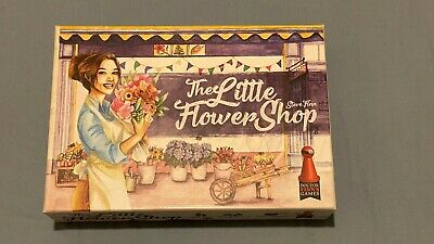 The Little Flower Shop - Doctor Finn's Games - Board Games - Excellent Conditon • 12£