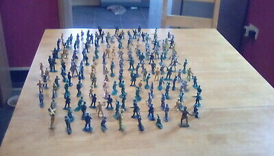 Collection Of Toy Soldiers/cowboys And Indians • 5£