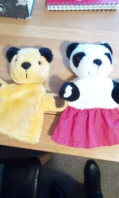 Sooty And Soo Glove Puppets • 5£