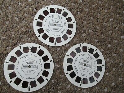 View Master Disney Fox And The Hound 3 Reels • 7£