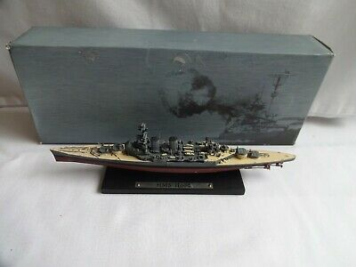 DeAgostini Atlas Edition 1:1250 Model Ship HMS Hood Boxed • 12£
