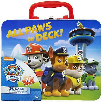 Paw Patrol 24 Pieces Puzzle In Tin • 6.99£