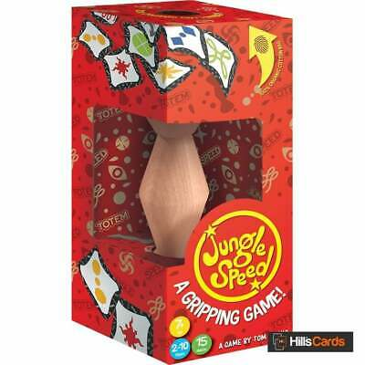 Jungle Speed Card Game Eco Box   2020 Edition   Wooden Totem • 14.95£
