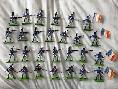 Vintage Toy Us Civil War Soldiers Britains Deetail Job Lot Of 57 Pieces • 33£