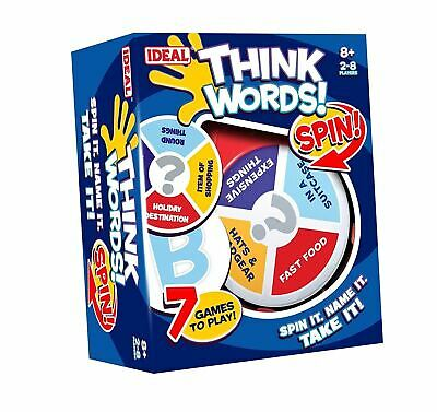 Think Words Spin Game From John Adam For Age 8+ • 11.99£