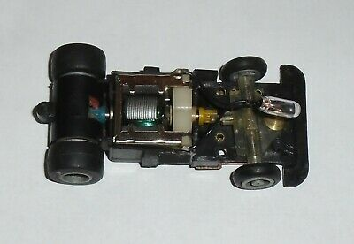 Vintage Ideal TCR Total Control Racing MK3 Lighted Chassis Slotless New Tyres • 19£