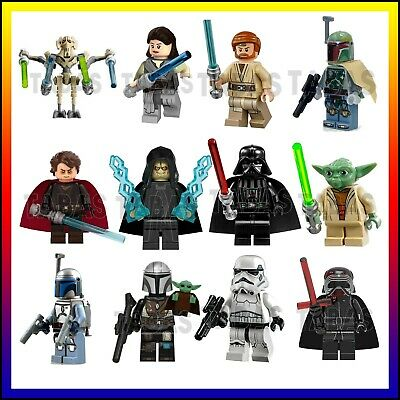 Star Wars Custom Lego Mini Figures Vader Bundle Marvel Minifigures Mandalorian • 2.99£