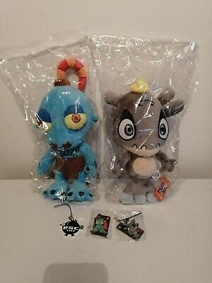 Oddworld Plush Toys, Abe And Munch+ Keychains + Playing Cards • 112£