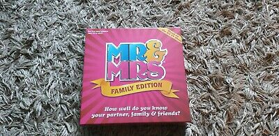 Mr And Mrs Family Edition Game • 12£