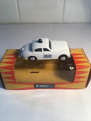 Triang MINIC Motorways M1552. Police Car In Nice Working Condition With Box Vgc • 55£