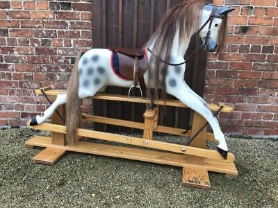 Stunning Large Rocking Horse Ideal For Christmas - Free Delivery • 895£