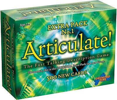 Articulate Extra Pack No.1 | 3000 Additional Entries For Your Articulate Game  • 19.75£