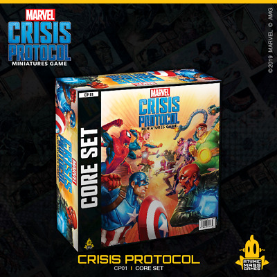 Marvel Crisis Protocol: Various Heroes -Great Christmas Gifts. NEW! SAVE ON RRP! • 29.99£