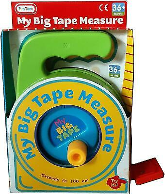 My Big Tape Measure - Extends To 100cm - For Ages 3+ • 9.99£