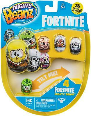 Mighty Beanz - Fortnite Pack-4 • 4.99£