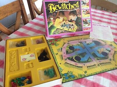 Bewitched Board Game By Waddingtons, Rare, Vintage Complete! • 35£