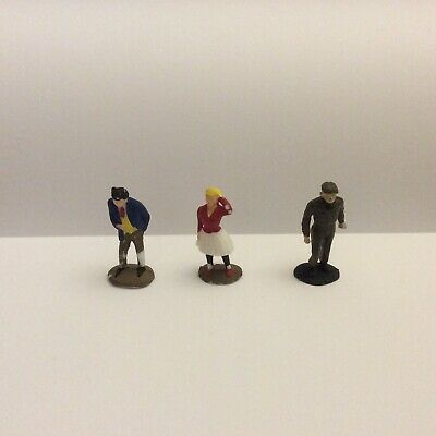 Triang Spot Teddy Boy Girl & Soldier 1950s Plastic Figures 1.42 #1 • 10£