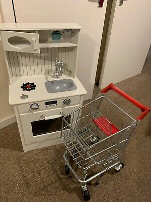 Melissa & Doug Trolley, Kitchen With Accessories  • 25£