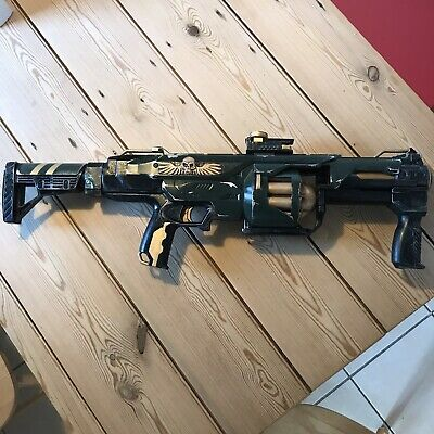 Cosplay 40k Life Size Grenade Launcher Imperial Guard Prop • 25£