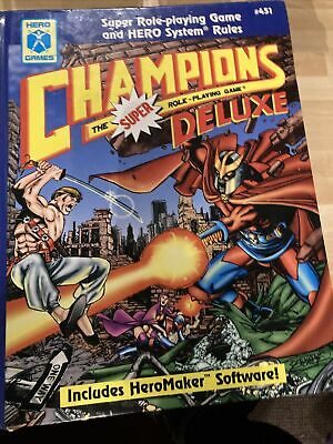 Champions The Super Role Playing Game Deluxe • 30£