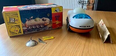 Gerry Anderson Century 21 Project Sword Moon Bus With Badge And Manual • 35.67£