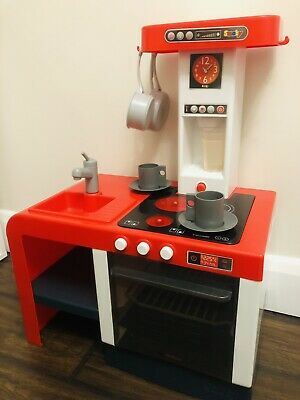 Children's Kitchen - Smoby Compact Cheftronic Tefal Kitchen With Light & Sound • 7£