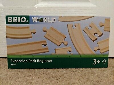 BRIO 33401 Track Expansion Pack Beginner For Wooden Train Set • 15.49£