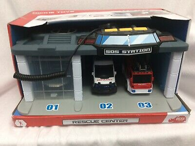 New Boys Dickie Toys S.o.s. Rescue Centre Age 3+ • 19.90£