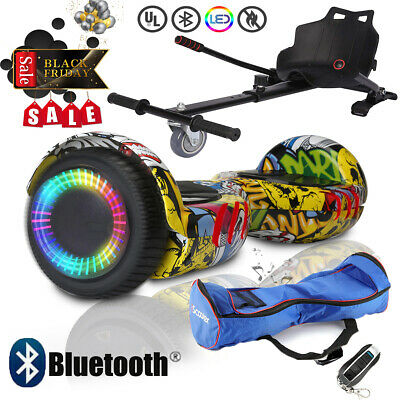 Bluetooth 6.5  Electric Hover Scooter Bundle Combo Self Balance Board &Hoverkart • 159.99£