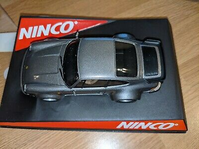 Ninco Porsche 911 Turbo Anthracite 77 Ref: 50338, Boxed, Never Used. • 31£