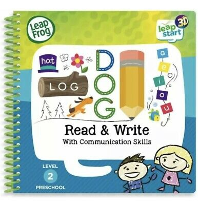 Leapfrog Read & Write 3D Activity Book LeapStart System Reading Toy • 10£