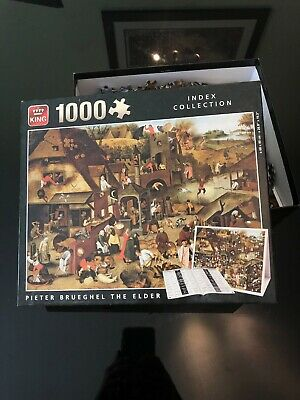 1000pc Jigsaw - Pieter Brueghel The Elder, Only Used Once • 4.99£