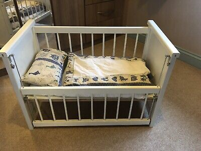 LuDun Bedfordshire (now Retired) Childrens Play Cot With Bedding For Dolls • 4.75£