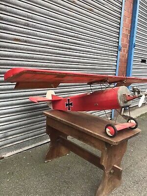 Used Petrol Rc Model Plane  No Radio  No Servos • 69£