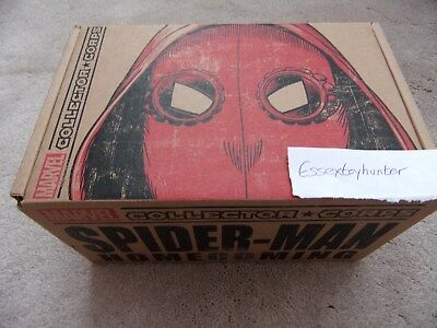Marvel Collector Corps SPIDER-MAN HOMECOMING Complete Box NEW Funko SMALL • 23.99£